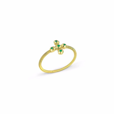 Juni Eye Emerald Ring