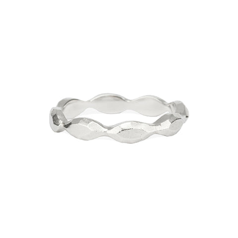 Meteor Ring in Silver