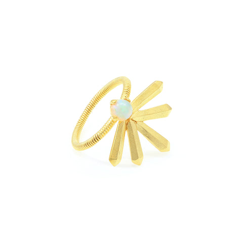 Ada Ring in Gold