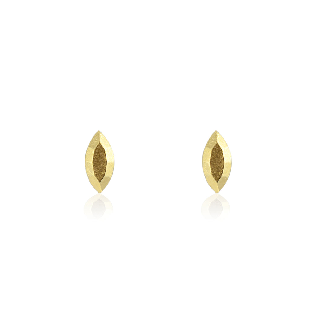 Krysta Ear Jackets in Gold