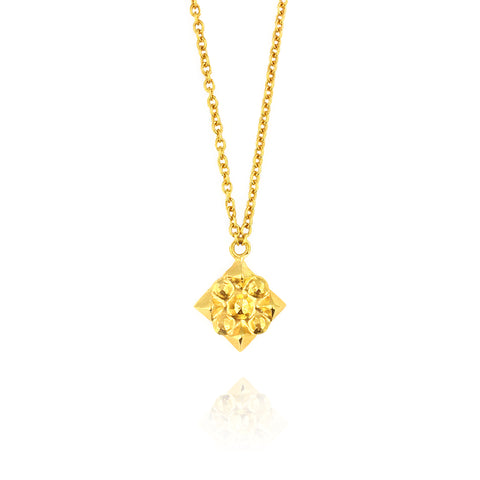 Stela Necklace in Gold