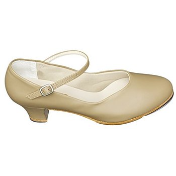 "Special Order Item - So Danca Adult 1 1/2 "" Character Tap Shoes - TA55 - TAN - Size 8"