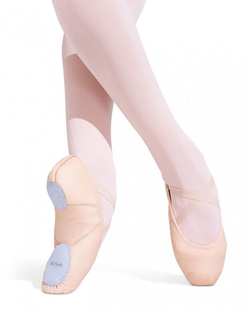 Capezio Child Leather Juliet Ballet Shoe - 2027C - Enchanted Dancewear