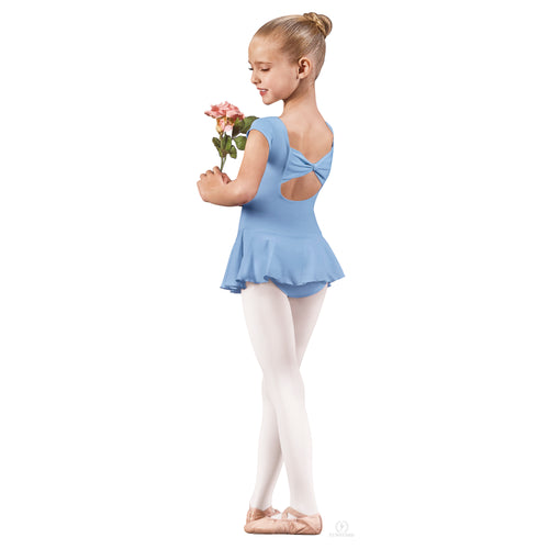 Eurotard Child Angelica Bow Back Leotard with Skirt - 44285