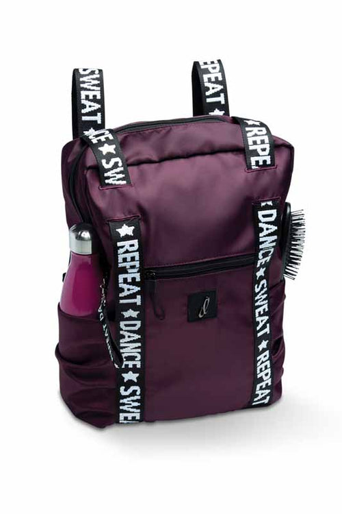 "Danshuz ""DANCE, SWEAT, REPEAT"" TOTE/BACKPACK - B21506"