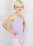 Basic Moves Child Spag. Strap Youth Lined Leotard - 5421GL