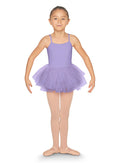 Bloch Child Flock Mesh Back Camisole Tutu Dress - CL5557