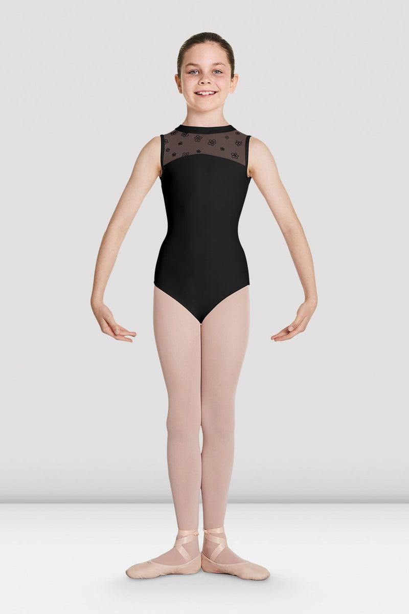 Bloch Child Keyhole Back Tank Leotard - CL5705