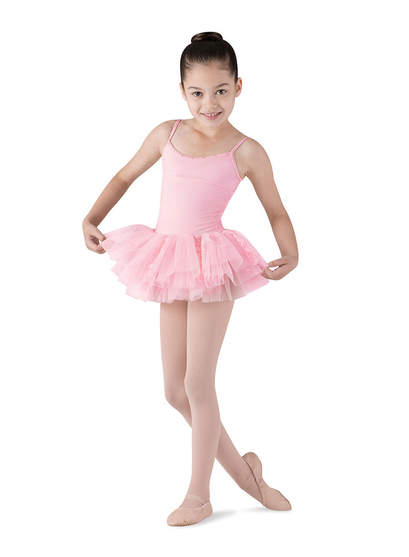 Bloch Child Rosette Tutu Leotard - CL7207