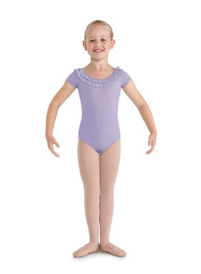 Bloch Child Bow Back Cap Sleeve Leotard - CL8622 - Enchanted Dancewear - 2