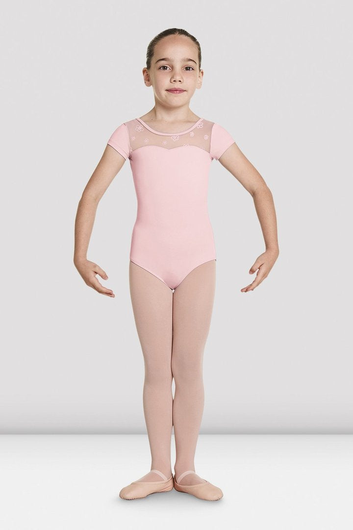 Bloch Child Antheia Short Sleeve Sweetheart Leotard - CL8752