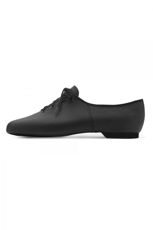 Dance Now Adult Split Sole Leather Jazz Lace-Up Shoe - DN980L