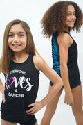 Trendy Trends Child Lace Back Lazer Tank Top - ELDK7005