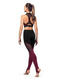 Bloch Adult Panelled Legging - FP5196
