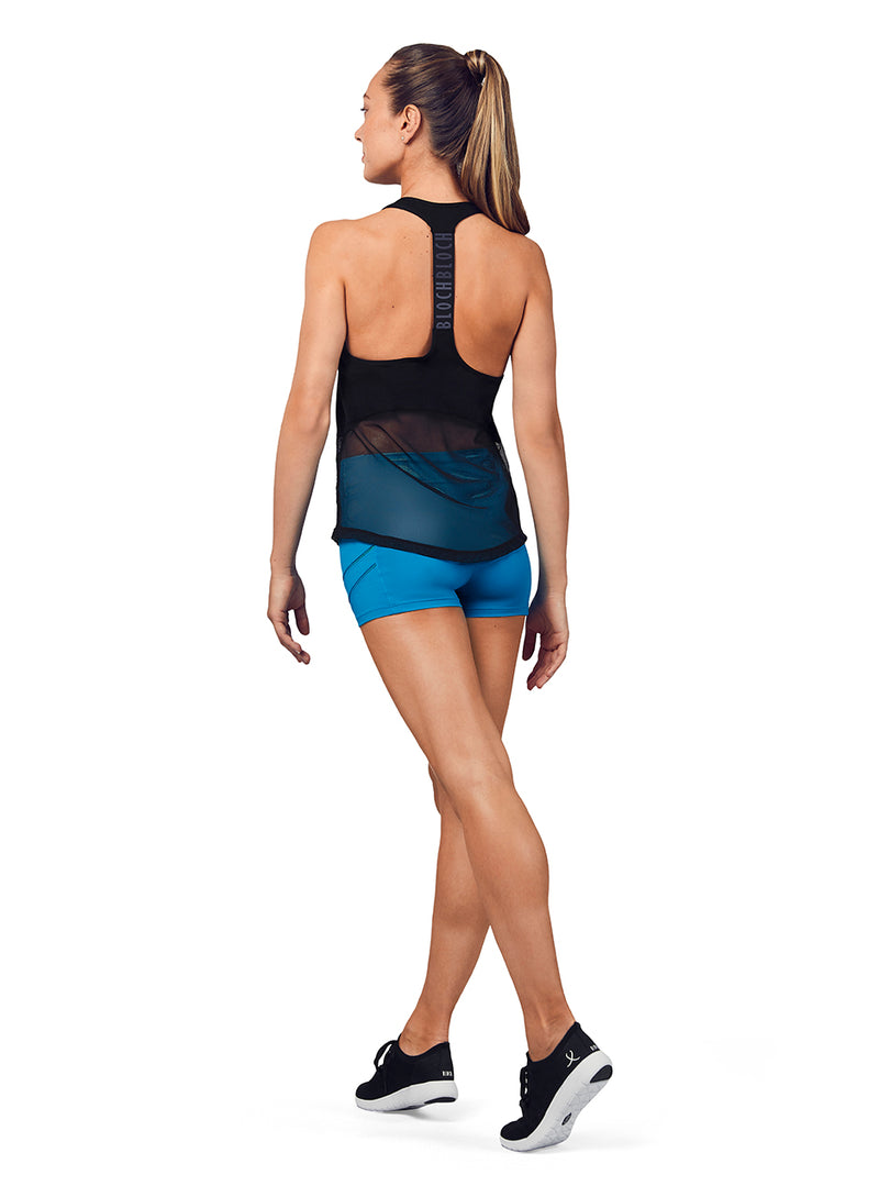 Bloch Adult Mesh Detail Tank Top - FT5205
