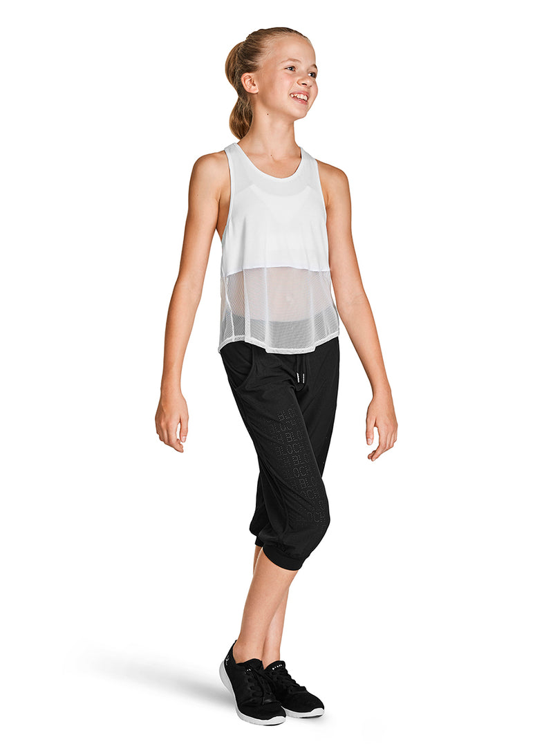 Bloch Child Mesh Detail Tank Top - FT5218C