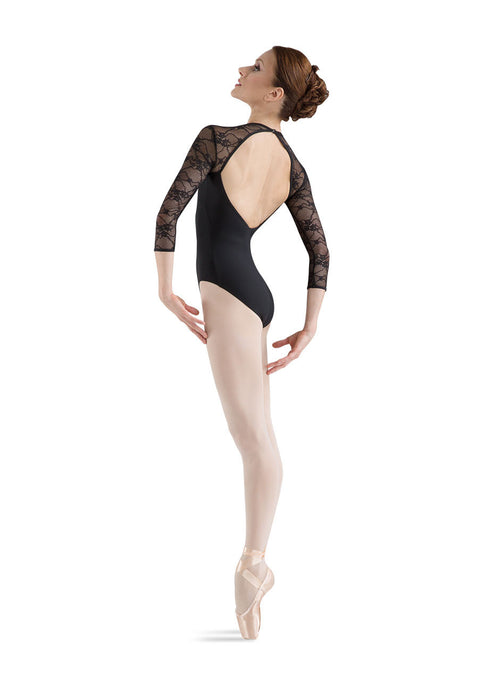 Bloch Lace 3/4 Sleeve Leotard - L6016 - Enchanted Dancewear