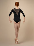 Bloch Adult Mesh Panel Long Sleeve Leotard - M1019LM