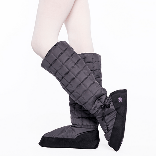 RP QUILTED WARMUP BOOTIES - KNEE-HIGH