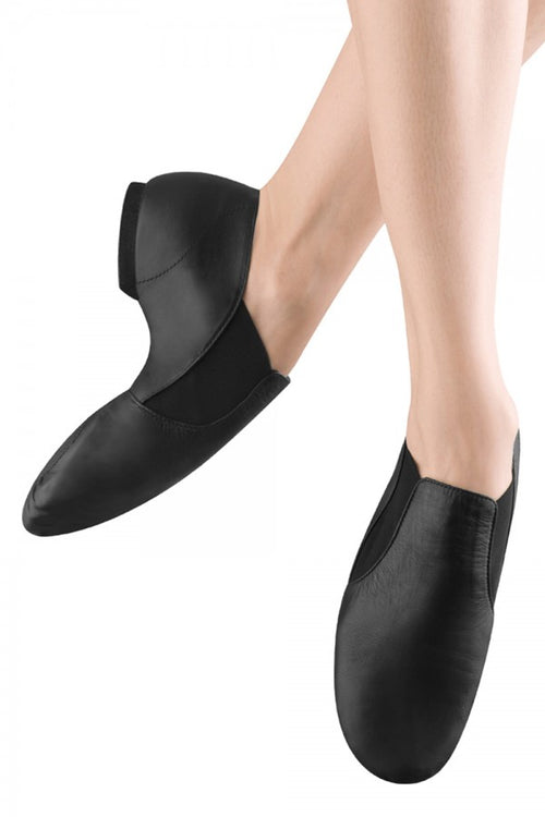 Bloch Adult Elasta Bootie Slip-On Jazz Shoes - S0499L