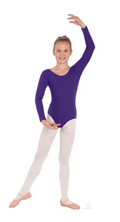 Eurotard Classic Cotton Long Sleeve Child Leotard - 10408