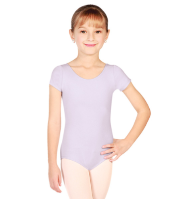 CLEARANCE - Basic Moves Child Cap Sleeve Leotard - 5423GL - Size 12/14