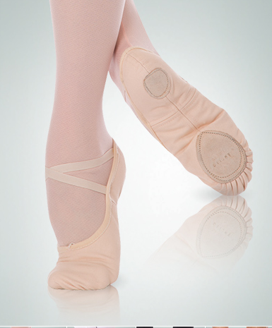 Body Wrappers Wendy Total Stretch Canvas Ballet Slippers - 246A