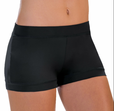Motionwear Adult Banded Leg Boy Cut Shorts - 7141