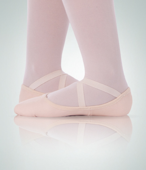 Body Wrappers Adult Maria TotalStretch ® Low Vamp Canvas Ballet Slippers - 247A