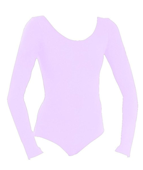 Basic Moves Child Cotton Long Sleeve Leotard - 5424GL