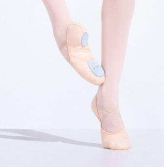 Capezio Child Canvas Juliet Ballet Slipper - 2028C