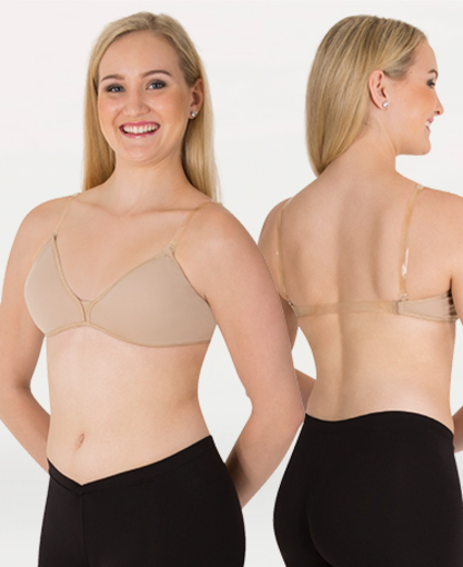 Body Wrappers Deep Plunge Removable Pad Convertible Bra - 291