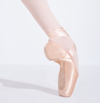 CAMBRÃ TAPERED TOE #3 SHANK POINTE SHOE - 1127W