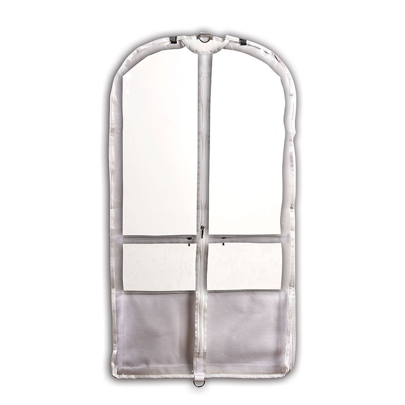 Danshuz White Competition Garment Bag - B598