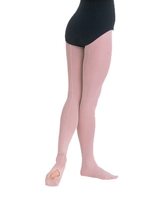 Body Wrappers TotalSTRETCH Mesh Seamed Convertible Tights - C45 - Enchanted Dancewear