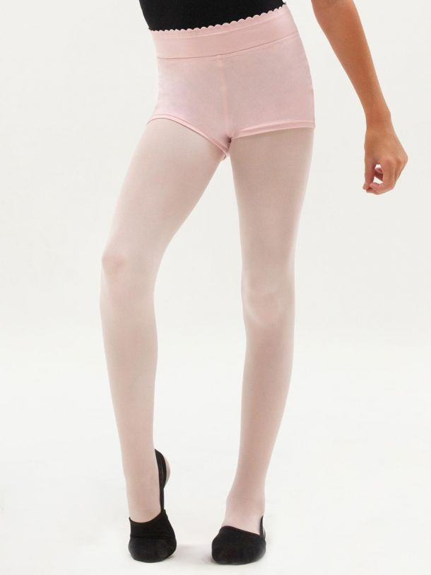 CLEARANCE Capezio Child Divine Dancer Scalloped Waistband Short - 11436C