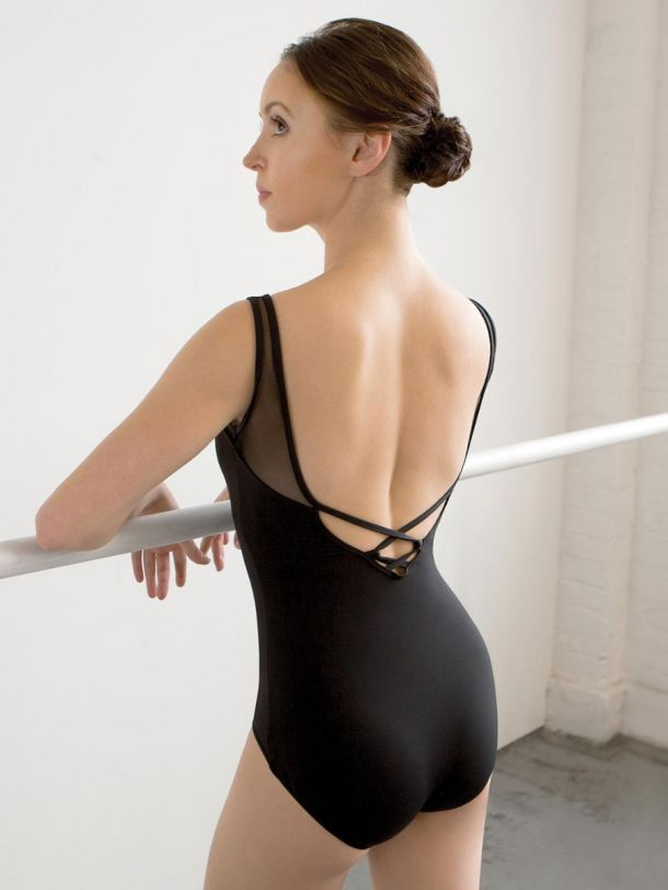 Capezio Adult Meryl V-Neck Tank Leotard - MC829W