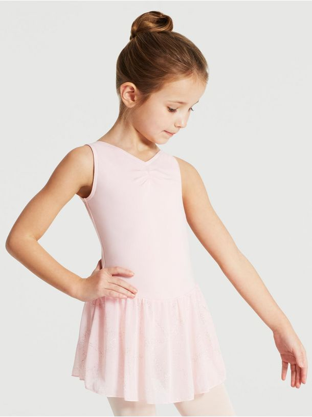 Capezio Child Pinch Front Tank Dress - 11309C