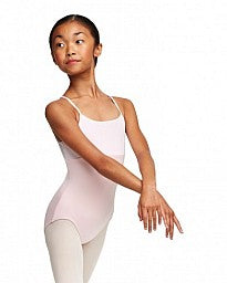"CLEARANCE - Capezio ""Your Grace"" Girls Mesh Leotard - 10835C"
