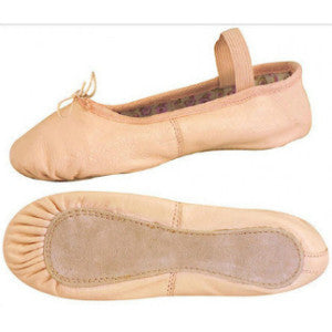 Danshuz Child Full-Sole Leather Ballet Shoes - 112 - Enchanted Dancewear