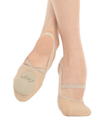 Capezio Adult Canvas Pirouette II Lyrical Shoes - H061 - Enchanted Dancewear