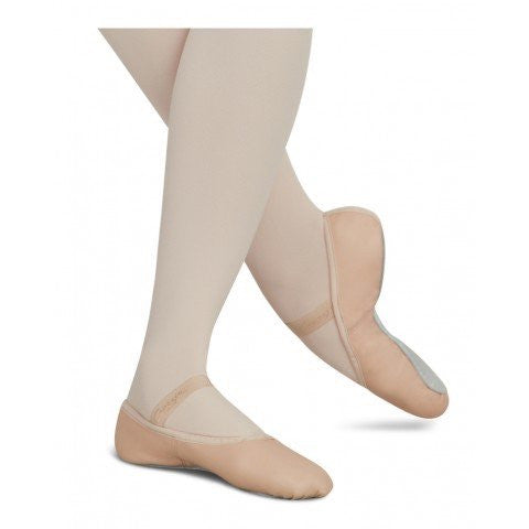Capezio Adult Daisy Full Leather Full Sole Ballet Slippers - 205 - Enchanted Dancewear