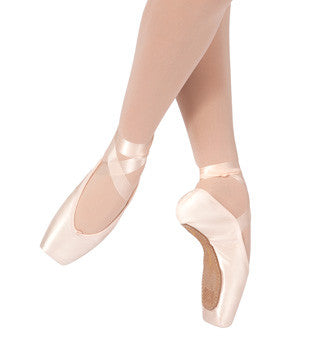 Russian Pointe Adult Rubin Pointe Shoes (Ruby) - RD - Enchanted Dancewear