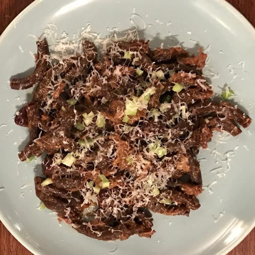 Sfoglini Cocoa Spaccatelli with Beer Braised Beef