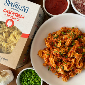Cascatelli by Sporkful - Double Pork Ragu