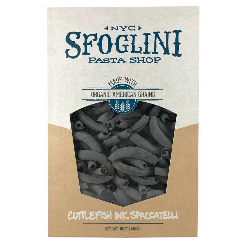 Sfoglini Cuttlefish Ink Spaccatelli Pasta