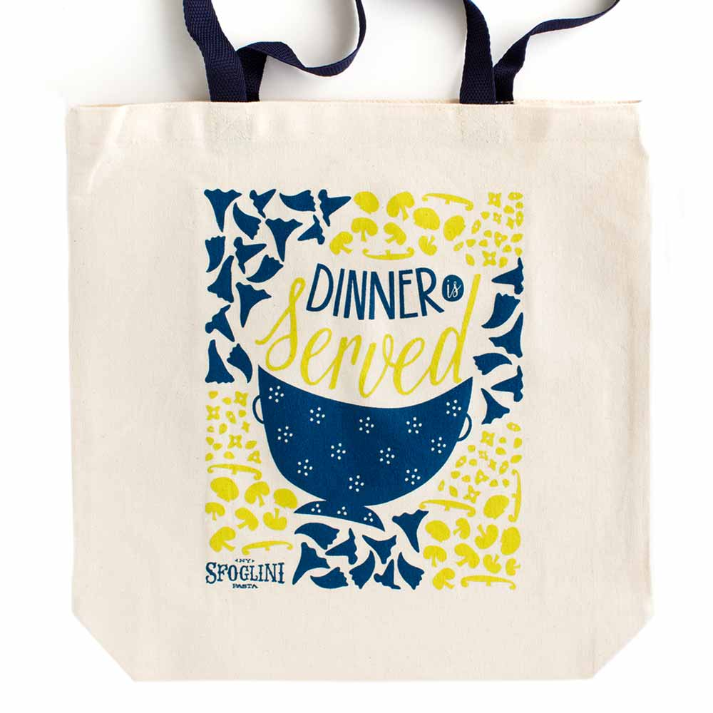 Sfoglini Porcini Mushroom and Trumpets Tote Bag
