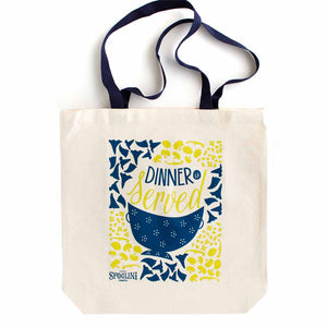 Sfoglini Porcini Regalo - Trumpets & Mushrooms Tote Bag