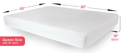 Queen Mattress Protector - Waterproof