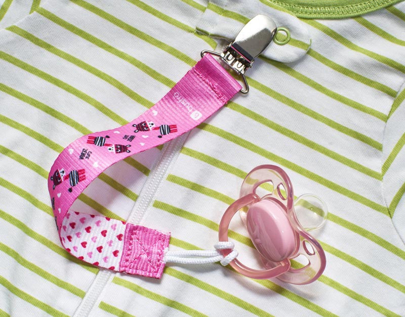 Pacifier Clips (3 Pack) - Universal Fit